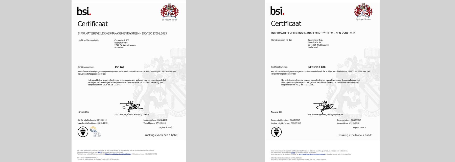 ISO-NEN certificering Intramed
